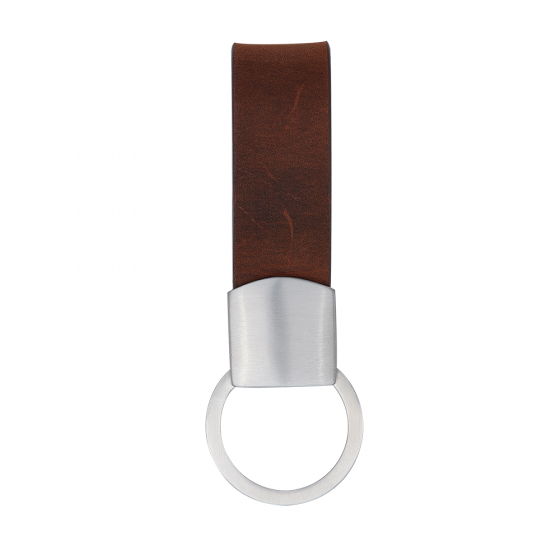 SON OF NOA Key Ring Brown Leather., 997 000-BROWN